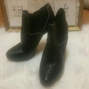 🍁BUY2/FREE SHIP! Sam Edelman Black Leather Boots